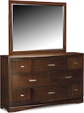Bedroom Furniture-Claremont Dresser & Mirror