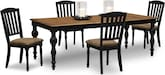 Dining Room Furniture-Evelyn 5 Pc. Dining Room