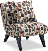 Living Room Furniture-Adrian Accent Accent Chair