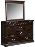 Bedroom Furniture-Pasadena Dresser & Mirror