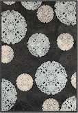 Rugs-The Napa Snowflakes Collection-Napa Snowflakes Area Rug (5' x 8')