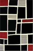 Rugs-The Terra Squares Collection-Terra Squares Area Rug (5' x 8')