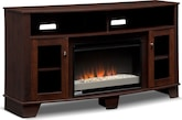 Entertainment Furniture-Vernon Fireplace TV Stand