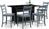 Dining Room Furniture-Thompson Island 5 Pc. Island Set