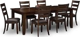 Dining Room Furniture-Martin 7 Pc. Dining Room