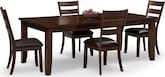 Dining Room Furniture-Martin 5 Pc. Dinette