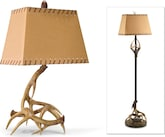Home Accessories-The Antlers Collection-Antlers Table Lamp