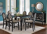Dining Room Furniture-The Martina Collection-Martina Counter-Height Table