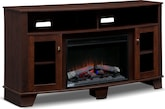 Entertainment Furniture-The Vernon Collection-Vernon Fireplace TV Stand