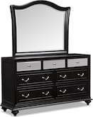 Bedroom Furniture-Marilyn Dresser & Mirror