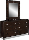 Bedroom Furniture-Palladia Dresser & Mirror