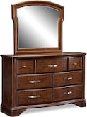 Bedroom Furniture-Hawthorne Dresser & Mirror