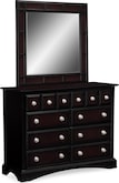 Kids Furniture-Landon II Media Dresser & Mirror