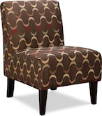 Living Room Furniture-Ribbon Accent Chair