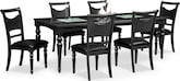 Dining Room Furniture-Charlton 7 Pc. Dining Room