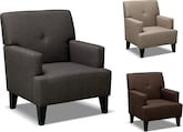 Living Room Furniture-The Avalon Collection-Avalon Accent Chair