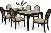 Dining Room Furniture-Stewart 7 Pc. Dining Room