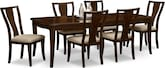 Dining Room Furniture-Chantal 7 Pc. Dinette