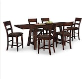 Dining Room Furniture-Appleton 7 Pc. Counter-Height Dinette