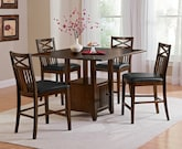 Dining Room Furniture-The Natchez Trail Collection-Natchez Trail Counter-Height Table