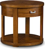 Accent and Occasional Furniture-Cole Round End Table