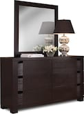 Bedroom Furniture-Casa Moda Dresser & Mirror