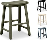Dining Room Furniture-The Bailey Collection-Bailey Saddle Stool