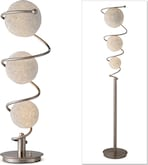 Home Accessories-The Metal Saturn Collection-Metal Saturn Table Lamp