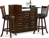 Dining Room Furniture-The Origins Chance Collection-Origins Island Bar