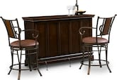 Dining Room Furniture-Bond Heath 3 Pc. Bar Set
