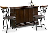 Dining Room Furniture-Carlton Winfield 3 Pc. Bar Set
