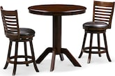 Dining Room Furniture-Welch Turner 3 Pc. Counter-Height Dinette