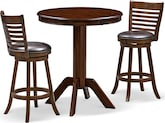 Dining Room Furniture-Welch Turner 3 Pc. Bar-Height Dinette