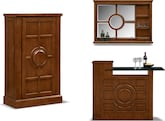 Accent and Occasional Furniture-The Origins Collection-Origins Armoire Bar