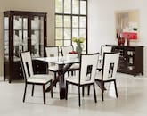 Dining Room Furniture-The Vero Paso White Collection-Vero Dining Table