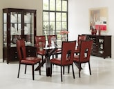 Dining Room Furniture-The Vero Paso Red Collection-Vero Dining Table