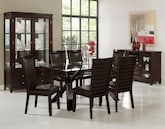 Dining Room Furniture-The Vero Costa Brown Collection