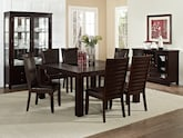 "Dining Room Furniture-The Karmon Costa Brown Collection-Karmon 60"" Dining Table"