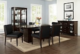 Dining Room Furniture-The Costa Reese Black Collection-Costa Table