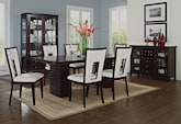Dining Room Furniture-The Costa Paso White Collection-Costa Table