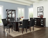 Dining Room Furniture-The Costa Vero Black Collection-Costa Table