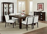 "Dining Room Furniture-The Karmon Reese White Collection-Karmon 60"" Dining Table"