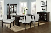 Dining Room Furniture-The Costa Reese White Collection-Costa Table