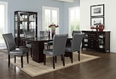 Dining Room Furniture-The Costa Vero Gray Collection-Costa Table
