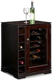 Accent and Occasional Furniture-Hawkins Wine Cabinet with Cooler