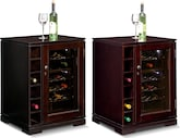 Accent and Occasional Furniture-The Horizon Collection-Horizon Wine Cabinet with Cooler