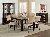 "Dining Room Furniture-The Karmon Keefe Beige Collection-Karmon 60"" Dining Table"