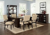 Dining Room Furniture-The Costa Keefe Beige Collection-Costa Table