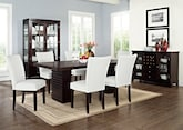Dining Room Furniture-The Costa Vero White Collection-Costa Table