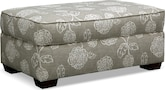 Living Room Furniture-Hadley Ottoman